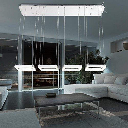 Tradicional LED techo colgante (cromo 16 W Globo 49224 - 64 ...