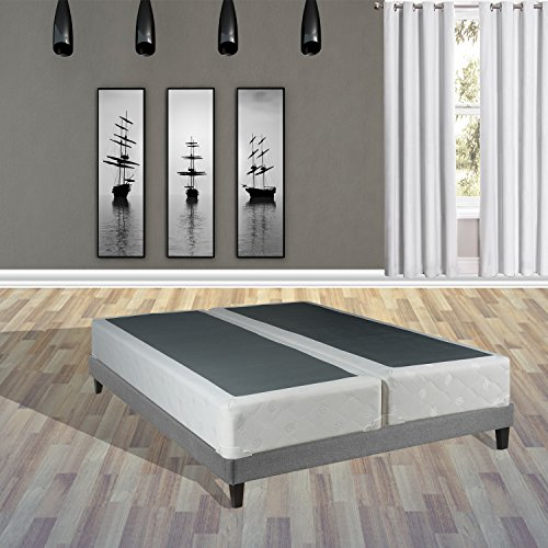 Continental Sleep Majestic Collection Fully Assembled 8'' Split Box Springs for Mattress, Queen by Continental Sleep