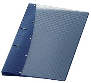 Veloflex 1141450 Diamond Carpeta Archivadora A4, 2 anillas, Color Azul