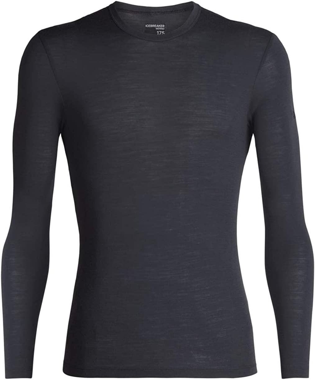 Icebreaker Merino Mens 175 Everyday Merino Wool Base Layer Long Sleeve T-Shirt