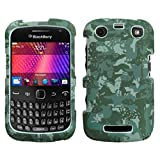 MYBAT BB9360HPCLZ766NP Lizzo Durable Protective Case for BlackBerry 9360 - 1 Pack - Retail Packaging - Digital Camo/Green