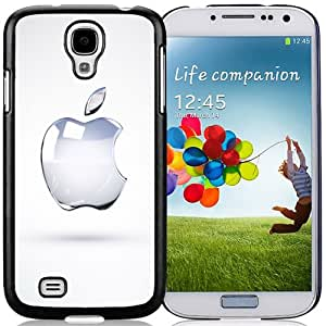 Beautiful Custom Designed Cover Case For Samsung Galaxy S4 I9500 i337 M919 i545 r970 l720 With Crystal Apple Logo Phone Case Cover