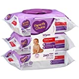 Parent's Choice Fresh Scent Baby Wipes, 80 sheets, 3 count