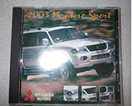 2003 mitsubishi montero sport service repair manual cd factory oem rh amazon com Mitsubishi Montero Engine Manual 1991 Mitsubishi Montero