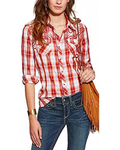 Ariat Women's Helena Snap Shirt Multi Medium