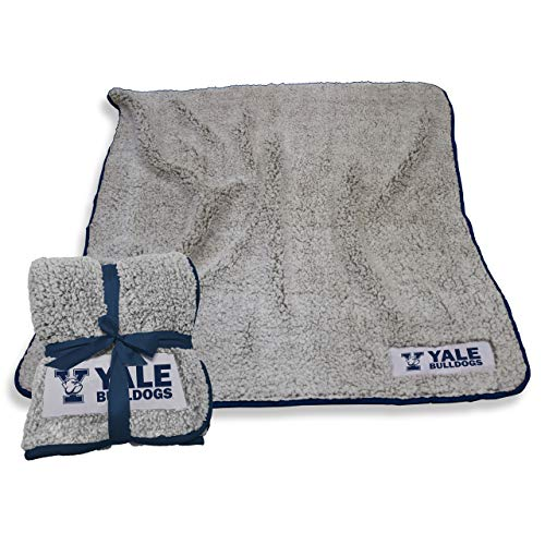 Logo Yale Bulldogs NCAA Frosty Fleece 60 X 50 Blanket - Team Color, ()