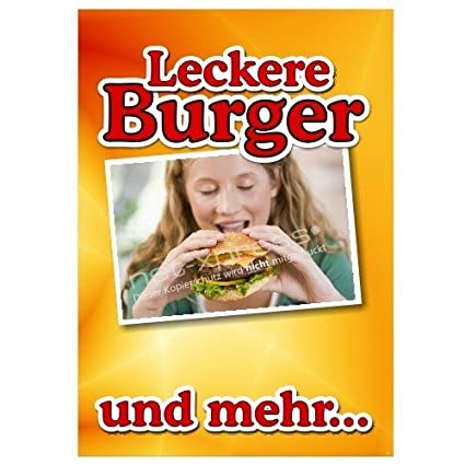 Net-Xpress® Cartel de Publicidad para Snack-Bar y ...