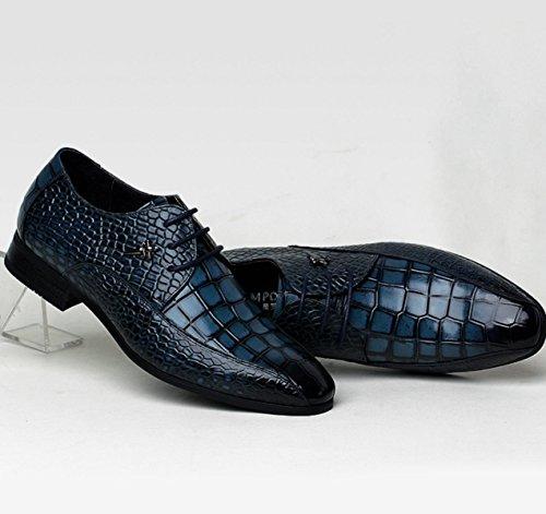 Nbwe High-end Mannen Kleding Schoenen Krokodil Bruidsjonkers Echt Lederen Zakelijke Schoenen Trouwschoenen Donkergroen Bruidegom
