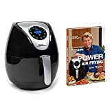 Power Air Fryer XL 3.4 Qt with Power Air Frying Hardcover Cookbook by Eric Theiss