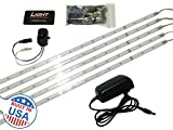 Executive Gun Safe Lighting Kit w/ Motion Switch : Tactical Grade American Lights - 2,250 Total Lumens