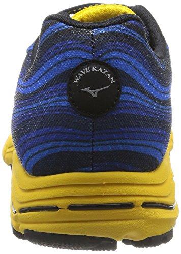Homme Kazan Chaussures jaune Mizuno argent Wave Bleu KHqRxwFUZU