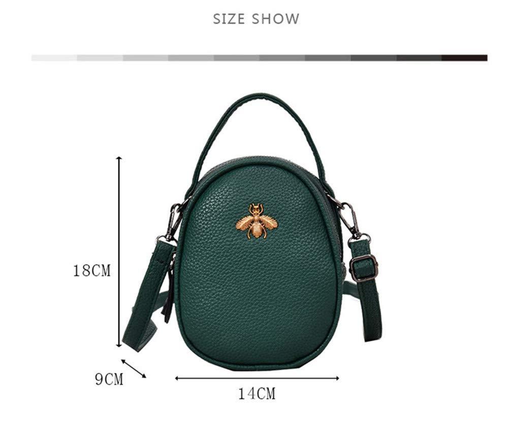 Bolsas de Mensajero de Mujer Mini Embrague de Bolso de Fiesta Black 14cm9cm18cm: Amazon.es: Equipaje
