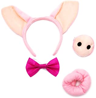Pig mask and tail sex constumes