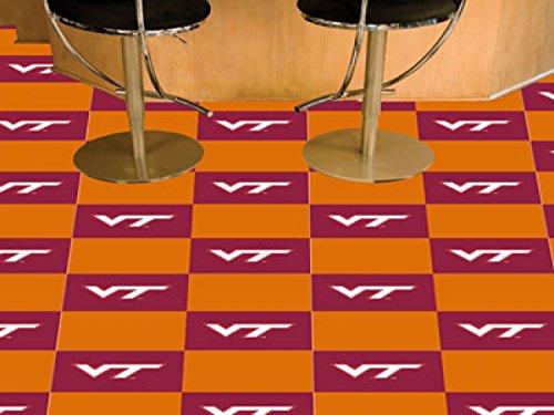 Team Carpet Tiles Virginia Tech 18