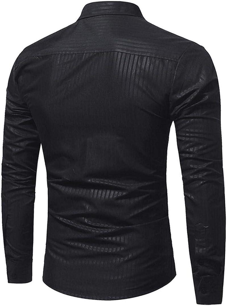 Men Denim Jeans Coats Washed Lapel Retro Slim fit Jacket Long Sleeve Outwear ASD