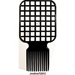 Afro & Twist Comb Barber Favored Black by iShapify LLC
