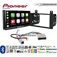 Volunteer Audio Pioneer AVH-W4400NEX Double Din Radio Install Kit with Wireless Apple CarPlay, Android Auto, Bluetooth Fits 2004-2006 Lincoln LS