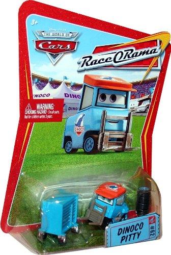 DINOCO PITTY #62 Disney / Pixar CARS 1:55 Scale THE WORLD OF CARS RACE-O-RAMA Die-Cast (Race O-rama Radiator Springs)