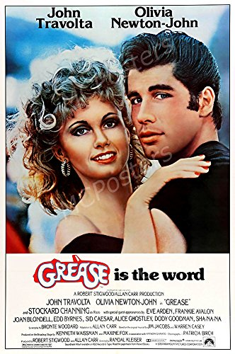 PremiumPrints - Grease is The Word Movie Poster - XMCP223 Premium Canvas 11