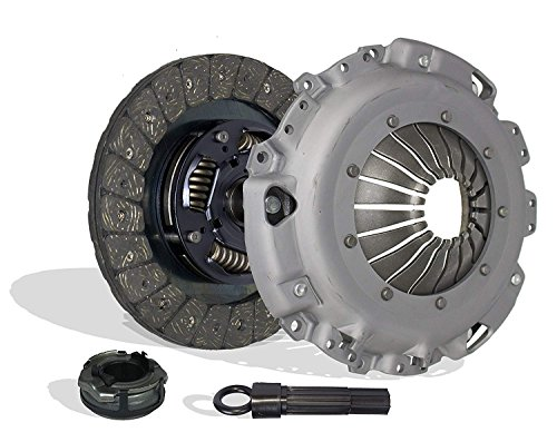 Clutch Kit Works With Volkswagen Golf Beetle Jetta Gl Gls Cabrio Europa Comfortline Wolfsburg Base Lujo Verano Trendline 1998-2006 2.0L L4 GAS SOHC Naturally Aspirated