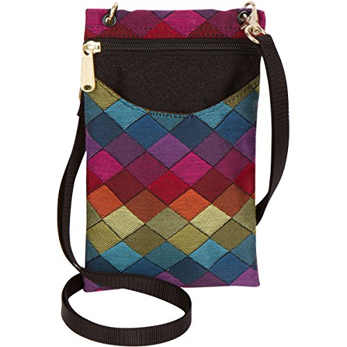 Danny K Women#039s Tapestry Crossbody Cell Phone or Passport Purse Handmade in USA