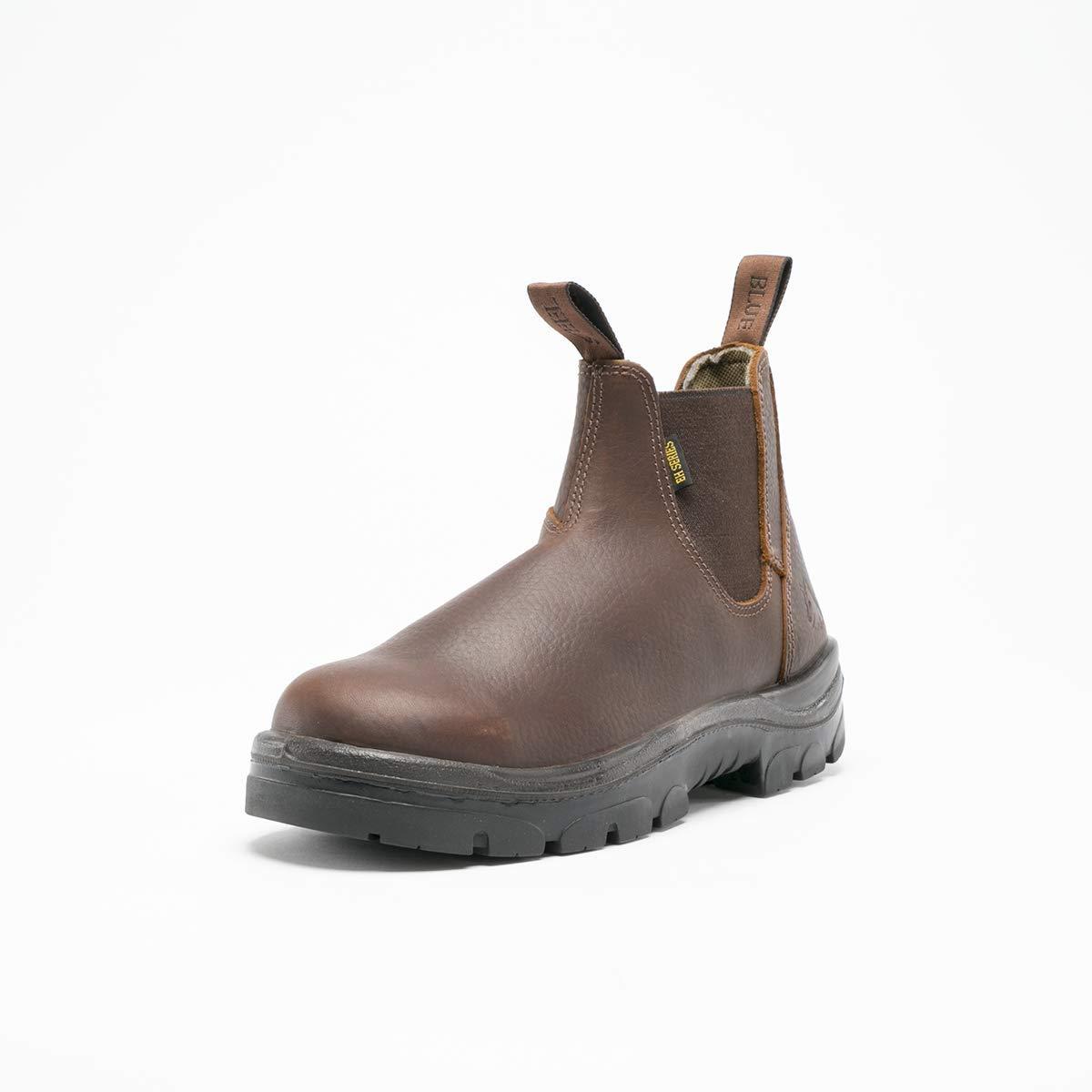 Steel Blue 812901W-130-OAK Hobart Boot Oak Mens Size 13 Wide Fit