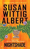 Nightshade by Susan Wittig Albert front cover