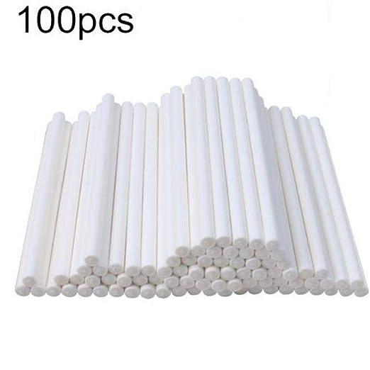 CULER 100 Piezas de 10 cm Lollipop Papel se Pega Torta Hace ...