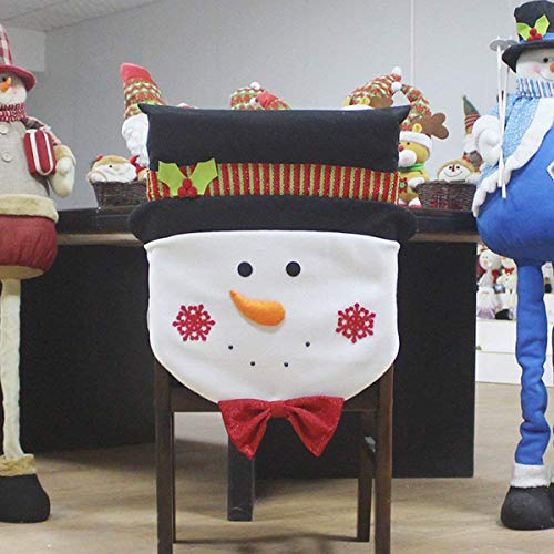 christmas dining room chair covers | CHFUN Christmas Chair Covers, Christmas Santa Claus and ...