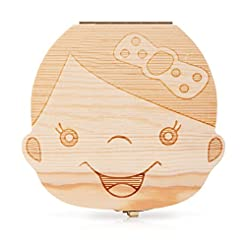 Baby Tooth Box and Tooth Holder,Tooth Fa...