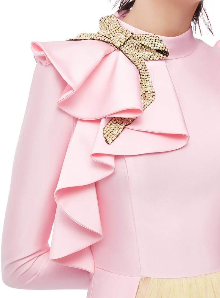 BINGQZ Robe de soirée CocktailRobe de soirée Femme Nouvelle Robe de soirée Noble Dames Robe de soirée Robe de réunion annuelle X