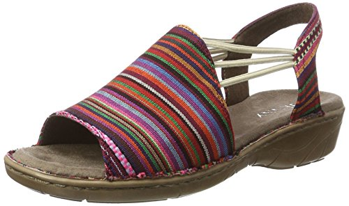 Jenny 79 Multicolore multi Sandales Bride Korsika Femme iii Arriere 8WFcwY8Zrq