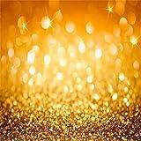 AOFOTO 5x5ft Bokeh Backdrop Glitter Dots Photography Background Sparkle Spots Party Decor Kid Girl Adult Artistic Portrait Abstract Photo Shoot Studio Props Video Drop Wallpaper Drape