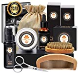 Best Beard Kits - Beard Care Kit Tool Set Grooming Balm Oil Review