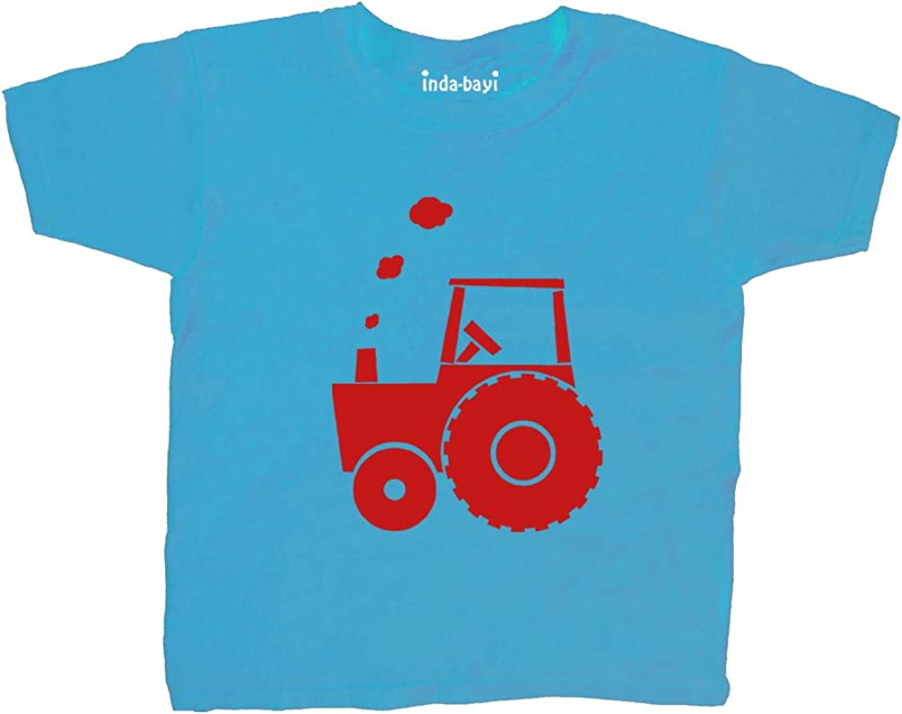 Tractor Inda-Bayi Baby-Toddler-Kids Cotton T Shirt