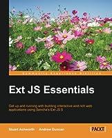 Ext JS Essentials Front Cover