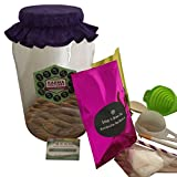Kombucha Tea Homebrew Starter Kit COMPLETE - Comes With Scoby, Jar, Starter Fluid, Organic Sugar & Tea + More! Everything You Need to Brew Premium & Kombucha Organic Tea In Your Own Home - Save Hundreds of Dollars vs. Buying Pre-bottled Kombucha
