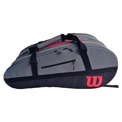 Amazon.com: Wilson Super Tour 2 Comp L Clash - Bolsa para ...
