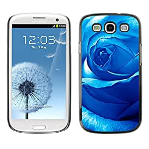 Stuss Case / Funda Carcasa protectora - Temptation Of An Ice Blue Rose - Samsung Galaxy S3