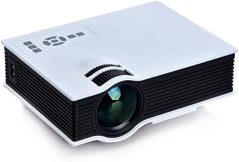 Proyector Portátil Multimedia 1080P HD con Mando a distancia para ...