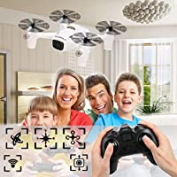 Happycat White Plastic 4CH 2.4GHz RC X4 720P Camera Plus H107C+ 360 Rotation Quadcopter With Remote Control (Black)
