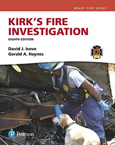 Kirk's Fire Investigation (8th Edition) (Brady Fire) by Pearson