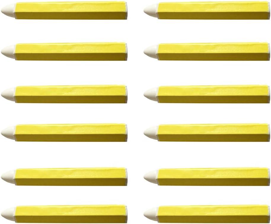 Artes Y Manualidades NSSTAR 12Pcs Marcador de Aceite de Pluma de Pintura Permanente Impermeable Universal para Neum/áticos de Autom/óvil