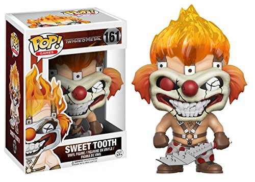 Funko Pop! Games: Twisted Metal Sweet Tooth Vinyl Figure Bundled with Free Pop BOX PROTECTOR CASE