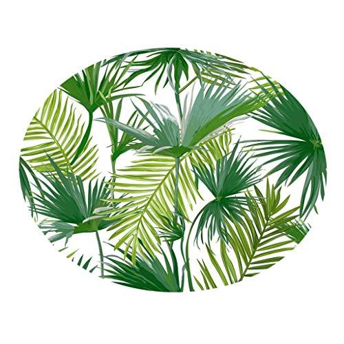 LUXISDE Botany Elements Blanket Round Bathroom Carpet 55cm ()