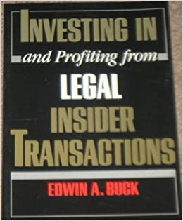 Book Investing in and Profiting from Legal Insider Transactions