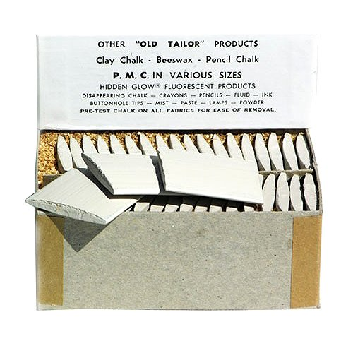 Jems Tailor Chalk ~ White ~ 36 Pieces/box by Jems Tailor Chalk