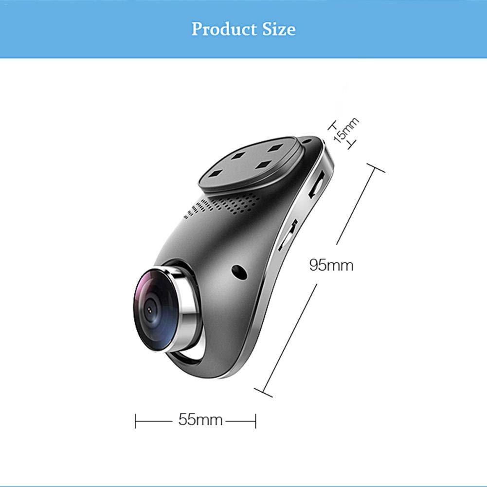 Rainnao Videoregistratore DVR per Auto 3G Videoregistratore a Doppia Lente Registratore di Guida HD 1080P Dash Cam Monitor per Specchio per retrovisore