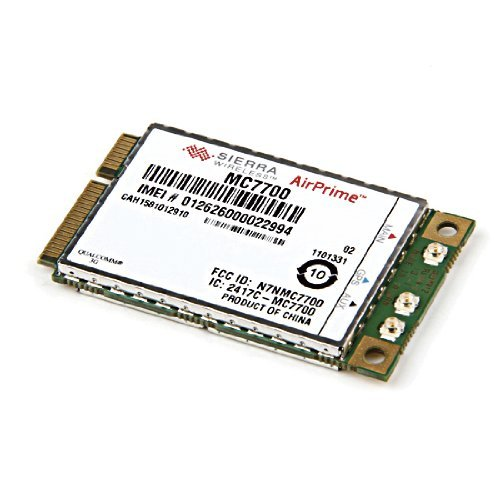 Unlocked Sierra AirPrime(tm) MC7700 3G WWAN Card 100mbps LTE HSPA+ Module from Fenvi