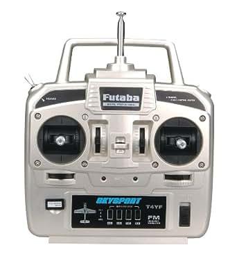 Futaba 4YF FM R168DF 4 S3004 Transmitter